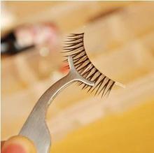 9pcs False Fake Eyelashes clip stainless steel Multifunctional Eye Lash eyelash curler Applicator Beauty Makeup Cosmetic Tool недорого