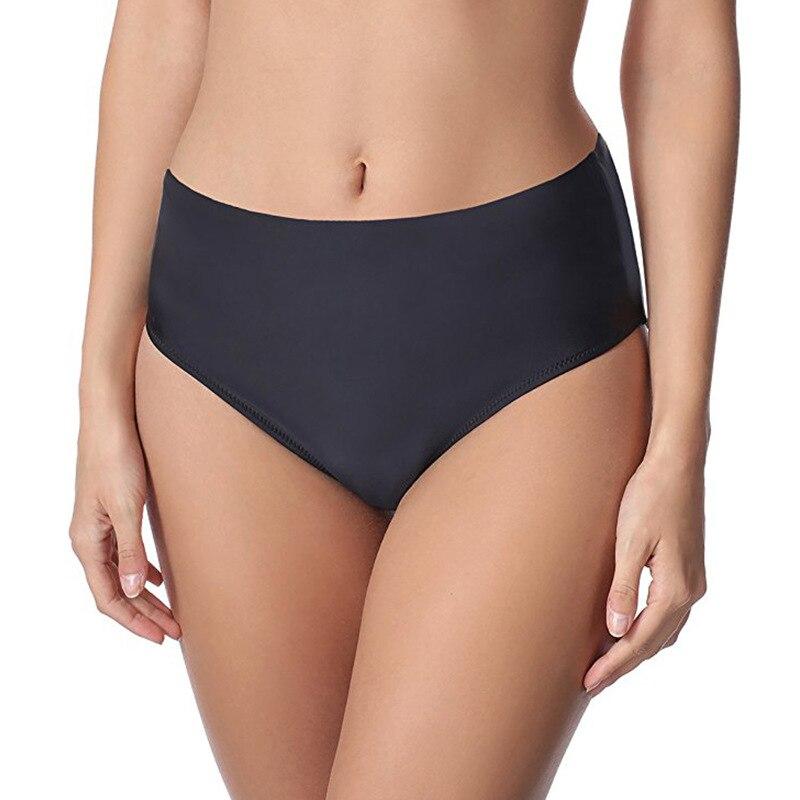High waist Bottoms Thong Women Swimwear 2018 Sexy Bikini Briefs Swim Bathing Suit Swimsuit Plus Size G-String Beach Underwear недорго, оригинальная цена