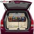 110X34cm органайзер для автомобильного сиденья с 6 карманами  органайзер для багажника заднего сиденья  аксессуары для автомобиля  сетчатый орг...