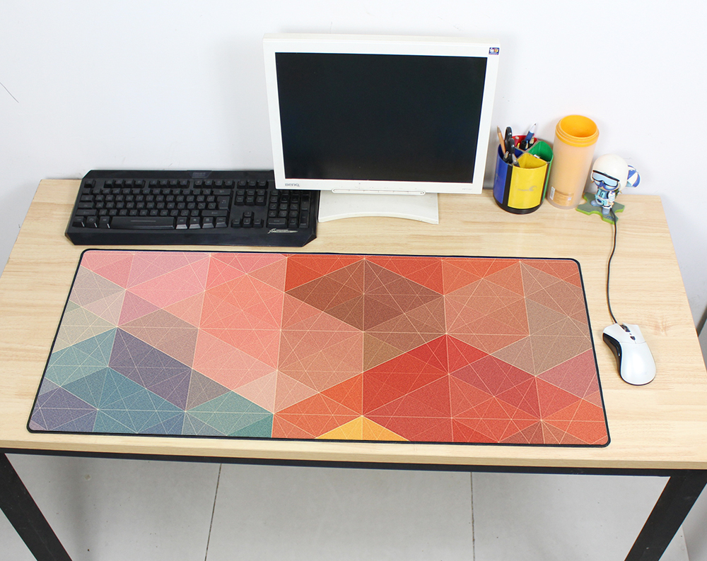 cheapest Large mouse pad 900x400mm speed Keyboards Mat Rubber Gaming mousepad Desk Mat game player Desktop PC HD print Laptop