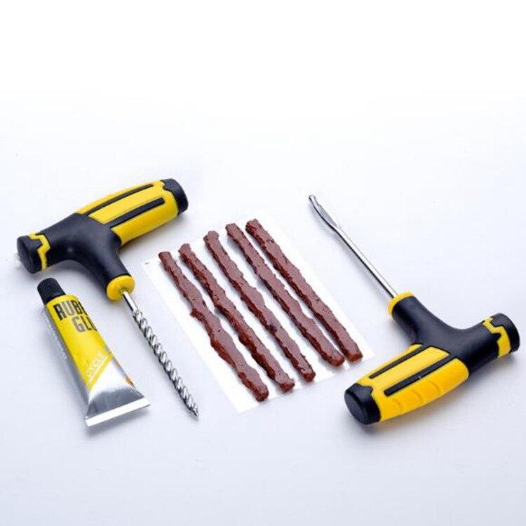Professional Car Tire Repair Kit Auto Bike Motor Tubeless Tire Tyre Puncture Plug Drill Bit Repair Tool