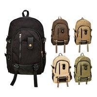 Outdoor Men Women S Vintage Canvas Backpack Rucksack School Satchel Hiking Bag LT8888