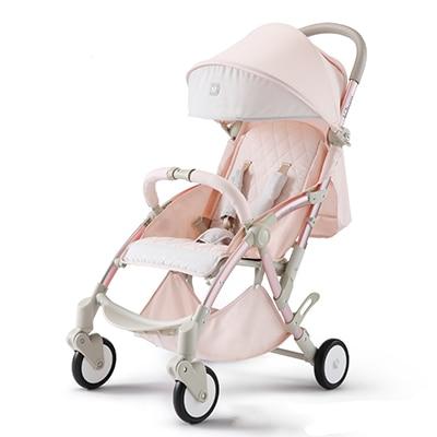 2018 Top Fashion 6kg light Baby Stroller Folding Child Four-wheel Car Umbrella Travel Strollers HK FREE