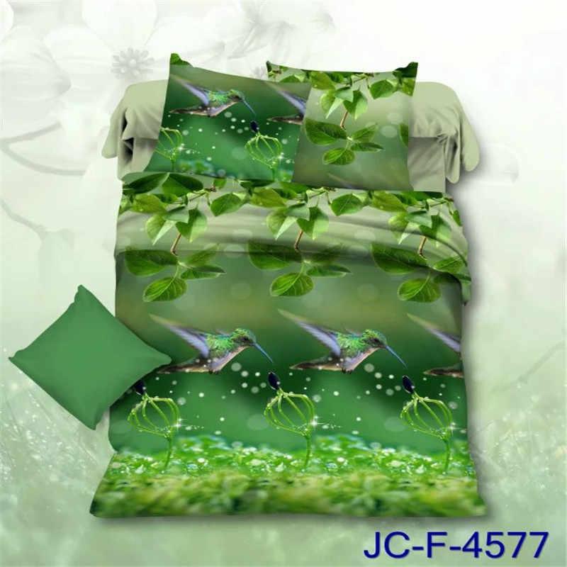 Домашний текстиль 3D постельные принадлежности наборы королева Размер 4 шт. Пододеяльник Простыня наволочка модный принт постельное белье Бесплатная доставка