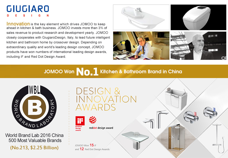 Bathroom Accessories Brands aliexpress : buy jomoo brand brass chrome kitchen bathroom