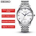 100% Original Seiko Uhr Presage Serie Business männer Automatische Mechanische Uhren 10 Bar Wasser Widerstand Globale Garantie
