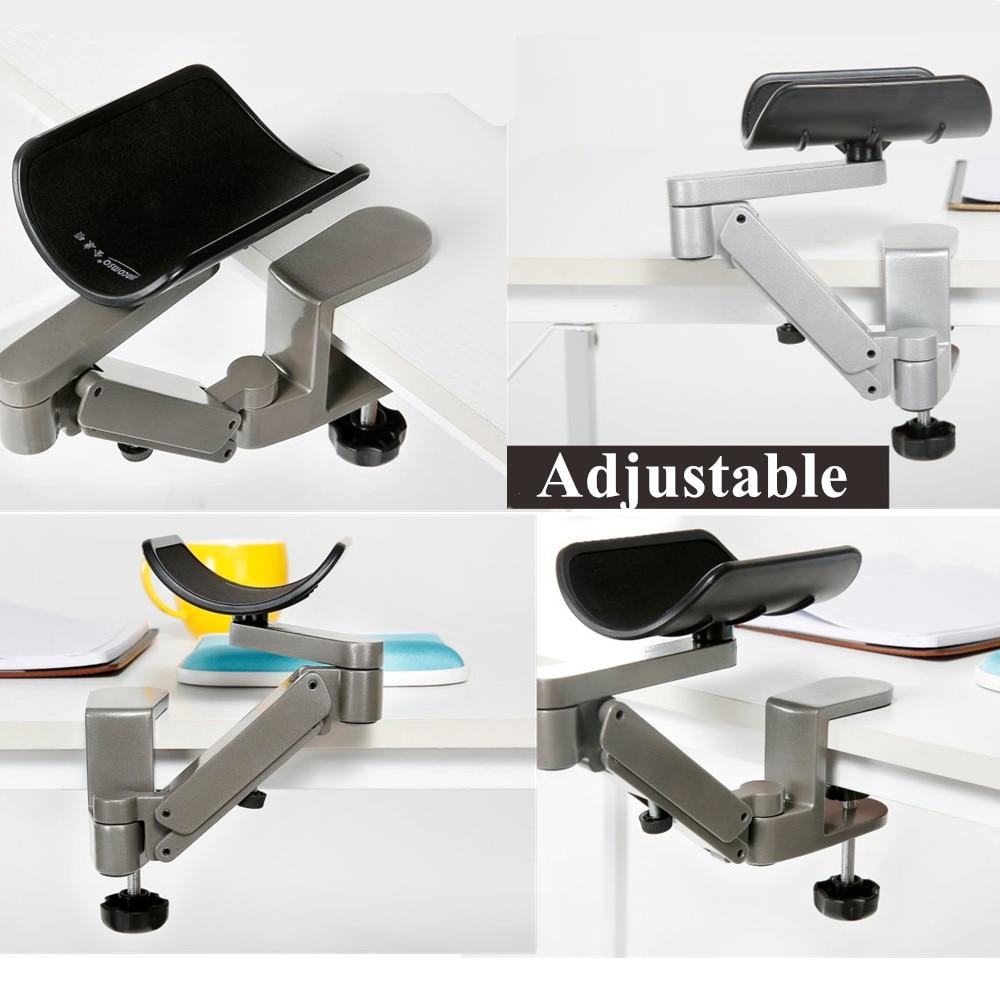 Ordinateur ergonomique satisfait métal bras Support réglable main glisser poignet Support ordinateur souris pad main ordinateur Support console - 5