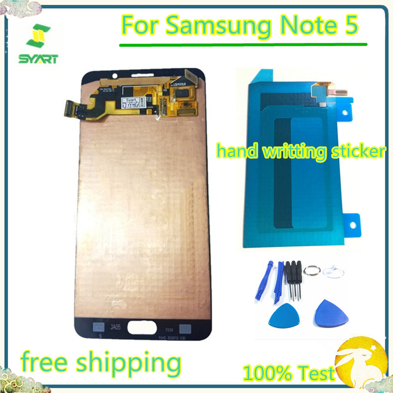 5.7'' Super AMOLED LCD Display Touch Screen Digitizer Assembly For Samsung Galaxy Note 5 N9200 N920A N920T N920I N920G