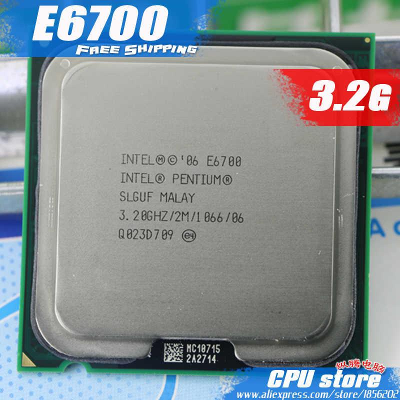 Groovy Intel Pentium E6700 Cpu Processor 3 2Ghz 2M 1066Ghz Unemploymentrelief Wooden Chair Designs For Living Room Unemploymentrelieforg
