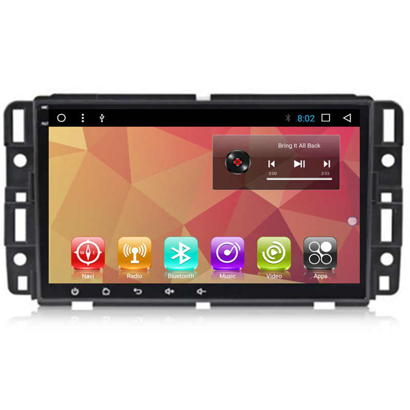 8 Android Car Multimedia Stereo Dvd Gps Navigation For Chevrolet Tahoe Yukon Gmc Acadia Enclave Suberban Van Buick Chevy Aliexpress