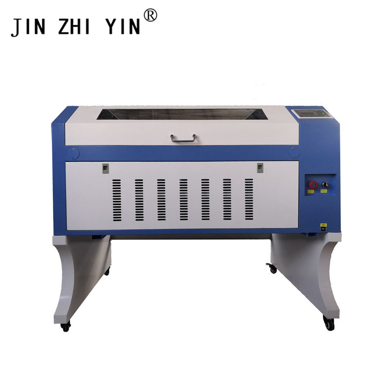 60W Portable Glass Laser Cutting Engraving Machine 6090 With Ruida 6442s System Engraving Wood Acrylic