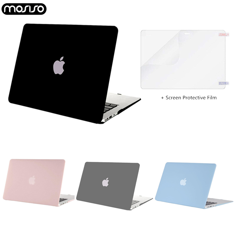MOSISO CrystalMatte Hard Case For Apple Macbook Pro13 15 Inch Laptop Case Coque For Mac ProTouch Bar 2018 New A1706 A1707 A1989-in Laptop Bags & Cases from Computer & Office