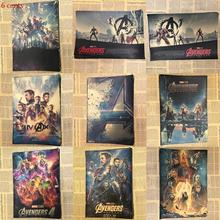 Manway Movie Poster Avenger Alliance 4 Kraft Paper Retro Wall Painting Decoration Wallpaper Murals
