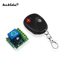 Newest 433 Mhz Remote Controls RF Transmitter with Wireless Remote Control Switch DC 12V 1CH relay Receiver Module
