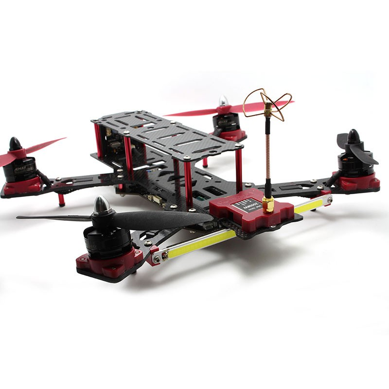 EMAX Nighthawk Pro FPV Quadcopter Carbon Fiber/Glass Fiber Mixed Frame CPPM/GPS EMAX 12A ESC ARF Version