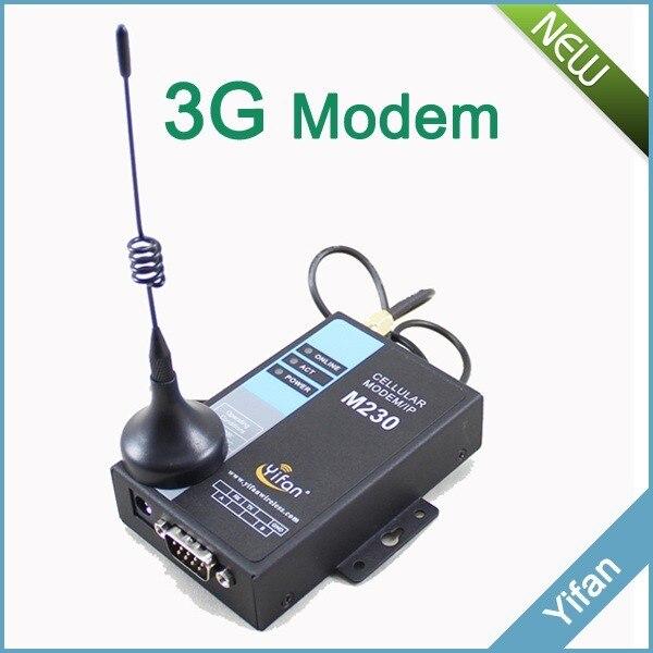 M230-H UTMS/HSDPA/HSUPA 3G RS232 RS485 modem DTU for AMR SCADA
