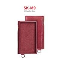 Fiio SK M9 estojo de couro para o leitor de música de alta fidelidade m9 cor vermelha Reprodutor de MP3 e acessórios p/ amplificador     -