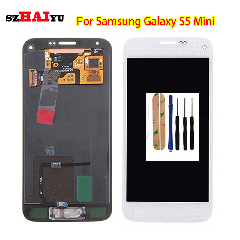 szHAIyu HD OLED LCD Display + Touch Screen For Samsung Galaxy S5 Mini G800 G800F G800H LCD display touch Screen Assembly szHAIyu HD OLED LCD Display + Touch Screen For Samsung Galaxy S5 Mini G800 G800F G800H LCD display touch Screen Assembly