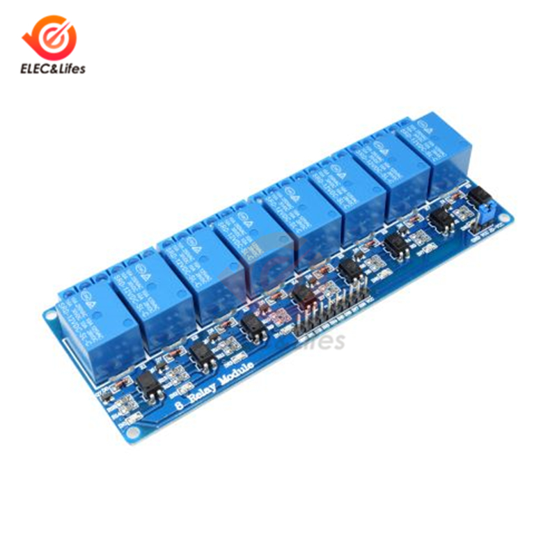 DC 12V 8 Channel Relay Module with optocoupler Relay Output 8 Way Relays Module for Arduino DIY