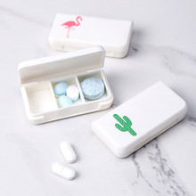 Portable 3 Grids Mini Pill Case Medicine Boxes Travel Home Medical Drugs Tablet Empty Container Storage Box