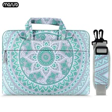 цена на MOSISO 13.3 15 15.6 inch Laptop Bag for Macbook Air Pro 13 15 Notebook Shoulder Bag for Macbook DELL Acer HP Asus Computer Bags