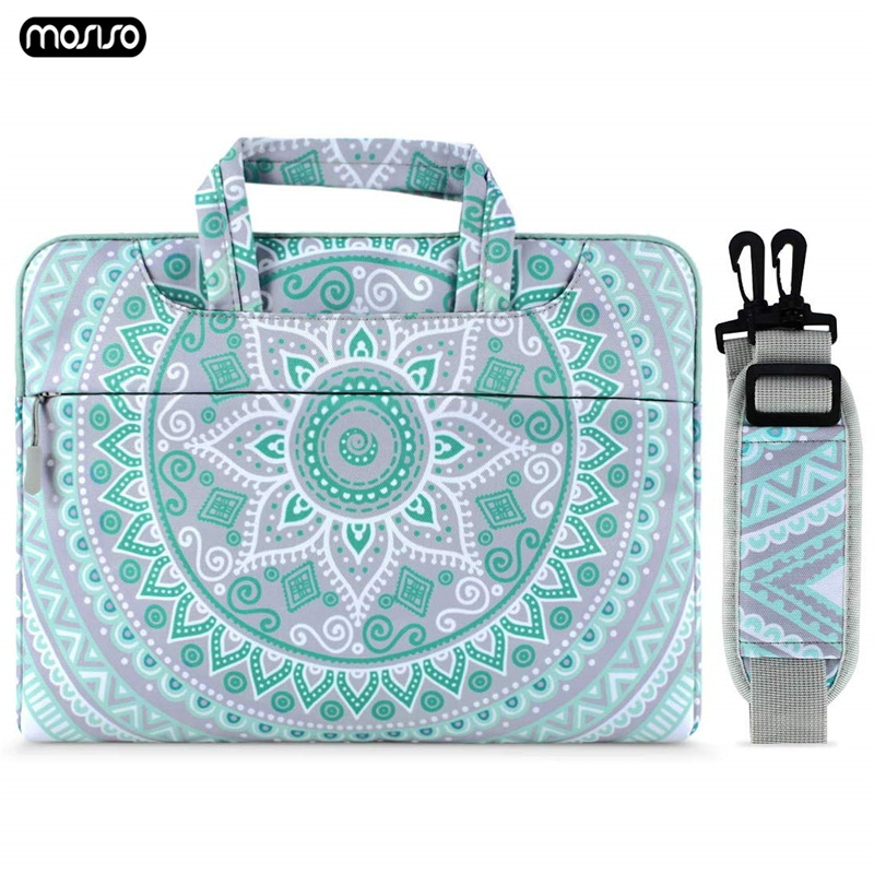MOSISO 13.3 <font><b>15</b></font> <font><b>15</b></font>.6 inch Laptop Bag for Macbook Air Pro 13 <font><b>15</b></font> Notebook Shoulder Bag for Macbook DELL Acer HP <font><b>Asus</b></font> Computer Bags image