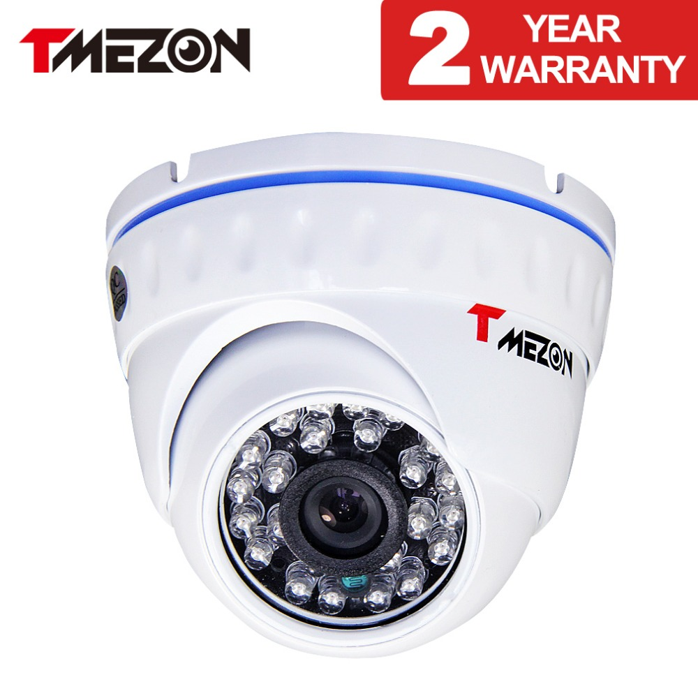 Tmezon AHD 720P 1MP 24pcs IR leds High Definition Resolution Infrared Waterproof Camera Day/Night Vision Dome CCTV 4 in 1 ir high speed dome camera ahd tvi cvi cvbs 1080p output ir night vision 150m ptz dome camera with wiper