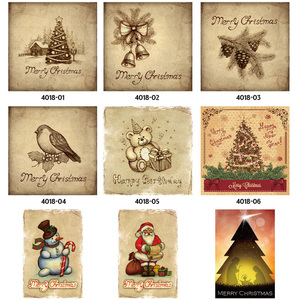 Image 2 - Merry Christmas Santa Claus Elk Gift Windbells Skiing Baptism Retro Metal Tin Signs Home Wall Art Decor Iron Poster for Bar Pub
