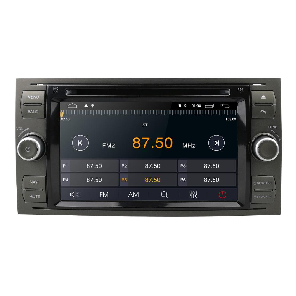 Android 9 0 Quad Core Car dvd player FOR FORD FOCUS C MAX car multimedia stereo