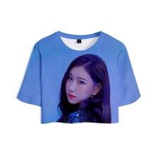 ITZY Crop T-shirt (8 Models)