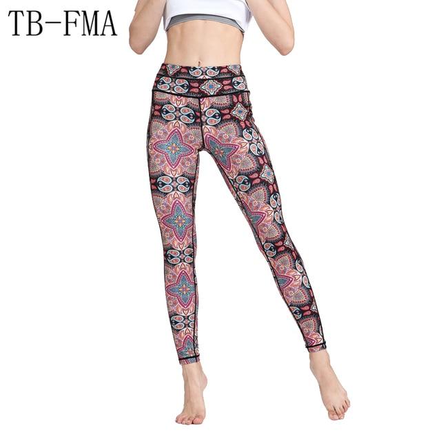 6cb5b3db07 Yoga Pants Leggings Women New High Waist Yoga Sport Gym Workout Fitness  Running Tights Sportswear Female Trousers Free Shipping