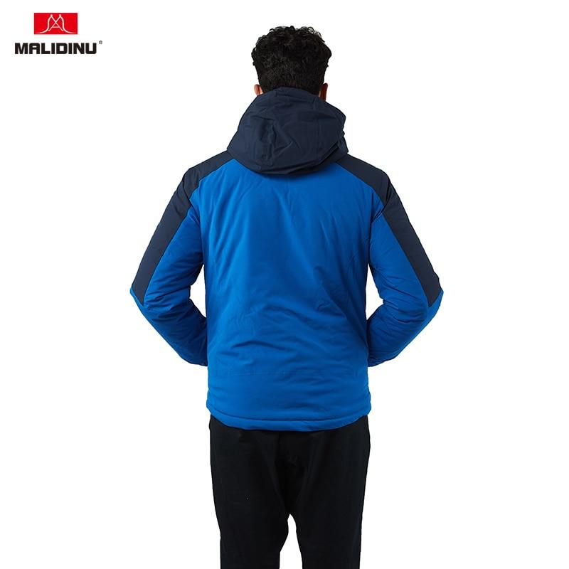MALIDINU 2019 Men Winter Jacket High Quality Cotton Padded Jacket Winter Coat Parka Men European Size Outdoor Jacket Men Clothes in Parkas from Men 39 s Clothing