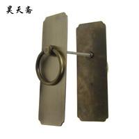 [Хаотянь вегетарианские] античная бронза дверной молоток кольцо классические прямые медь от установки может обрабатывать большие