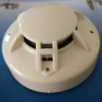 4 Wire MCU Conventional Smoke Heat Detector Conventional Multi Sensor Smoke Heat Detector With Relay Output