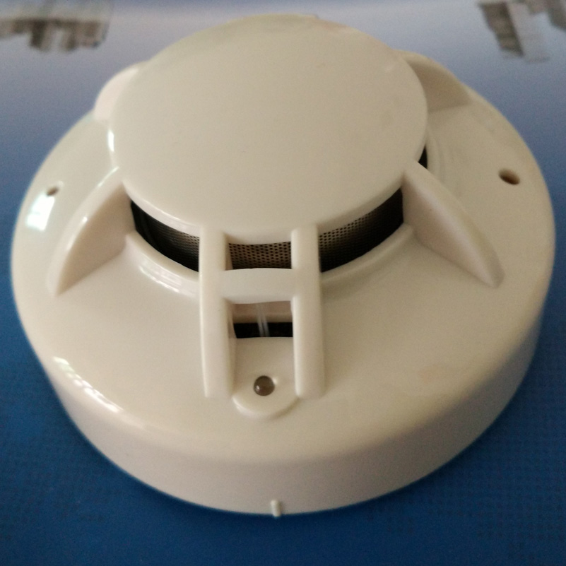 4-wire,MCU Conventional Smoke & Heat Detector Combined  Multi Sensor Smoke  Heat Alarm With Relay Output