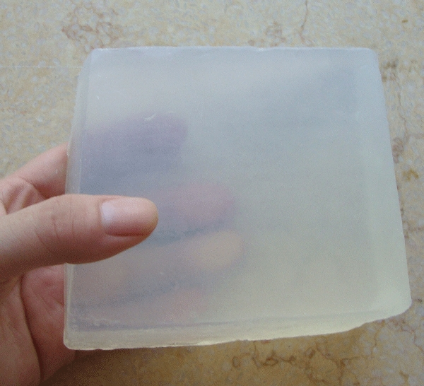 1pc=1kg Transparent Soap Base DIY Handmade Soap Raw Materials Glycerin Soap For Soap Making