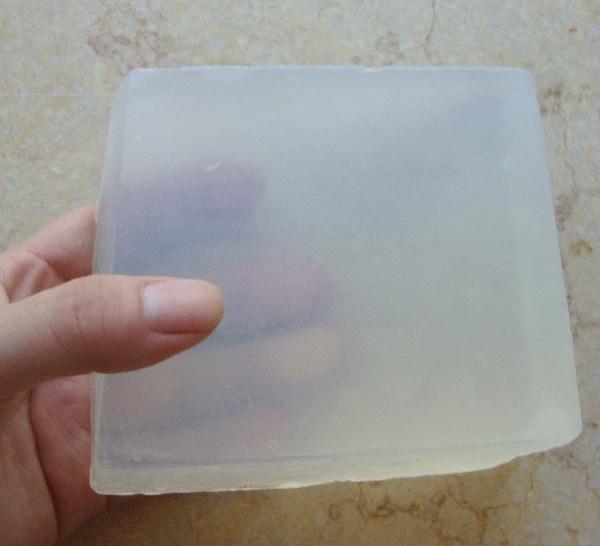 1pc=1kg Transparent Soap Base DIY Handmade Soap Raw Materials Glycerin Soap For Soap Making