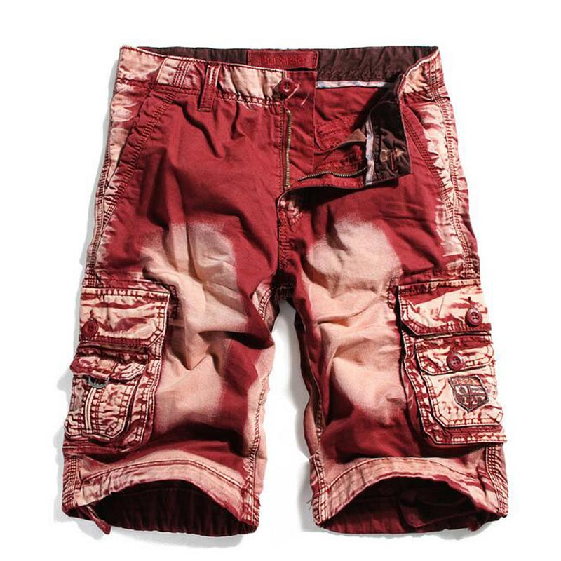 HEE GRAND 2018 New Arrival Mens Shorts Casual Straight Multi-pocket Overalls Camouflage Bermuda 29-40 Big Size MKD1274