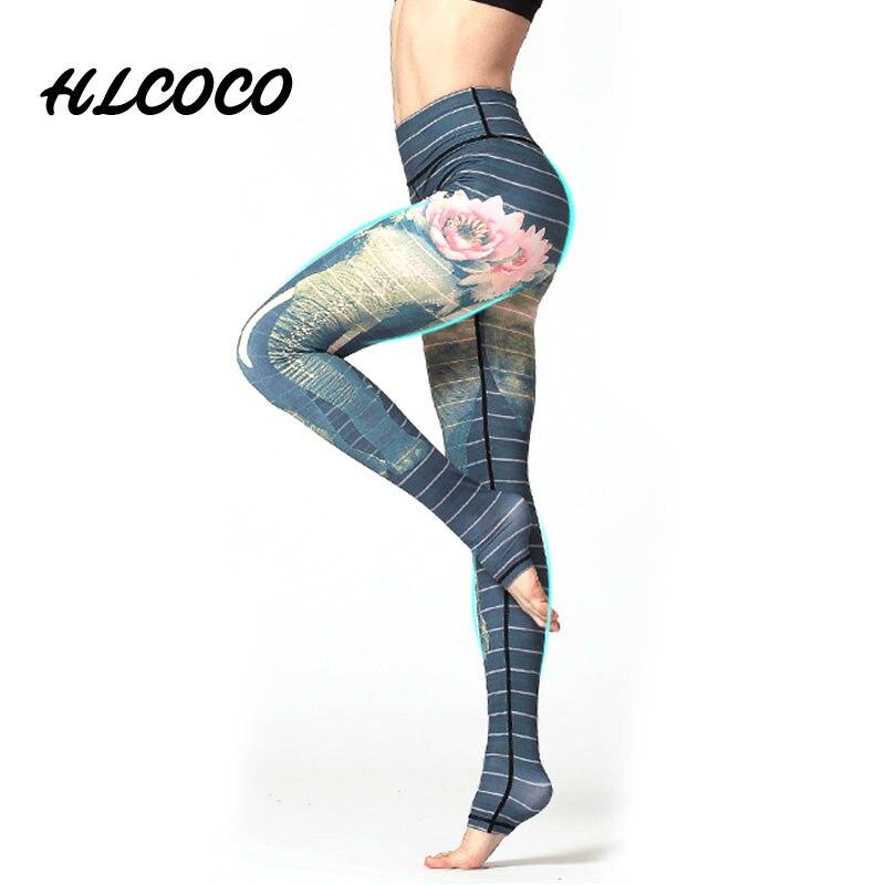 Yoga Leggings Sports Pants Yoga Women Sports Clothing Trousers Fitness Yoga Compression Sport Tights Yoga Sportswear Gym Clothes Лосины
