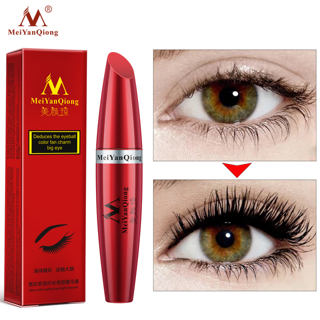 Makeup Eye Mascara Lengthening Nutritious Moisturizing Easy to Dry Natural Curling Thick Waterproof Sweat-proof Eyelash Care 3