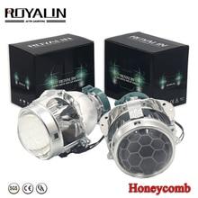 ROYALIN プロジェクターヘッドライトバイキセノンレンズブランド名 EVOX 2.0 D2S 電球 bmw E39 E60 フォードアウディ A6 C5 C6 W211 パサート B6 シュコダファビア