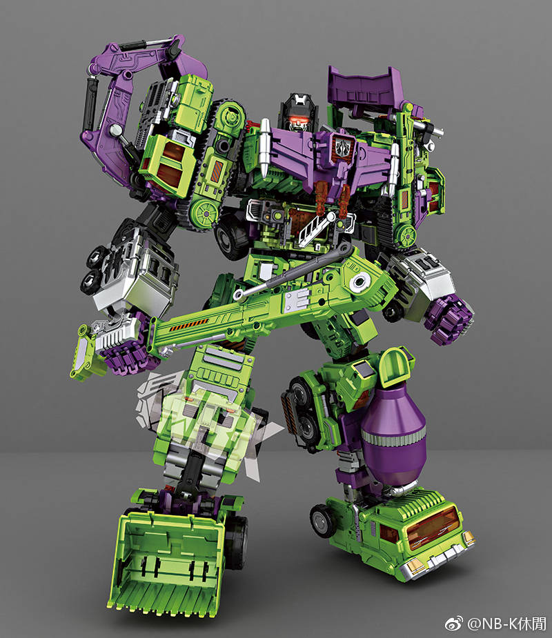Transformation NBK ko gt Devastator figure toy Clearance sell-in Action & Toy Figures from Toys ...