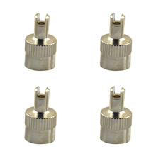 4Pcs Universal Copper Car Motorcyle Wheel Tire Stem Air Valve Caps  W/ Remover Tool 14.8mmx8.7mm стоимость