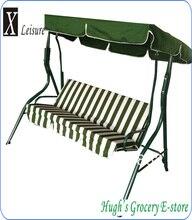 Популярные прочный оплот 3 места для сидения качалками