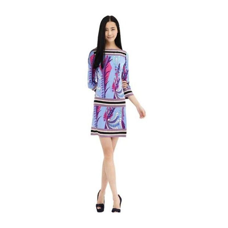 Printemps mode robe doux femmes élégant fantaisie tricoté élastique robe livraison gratuite Z-1-72