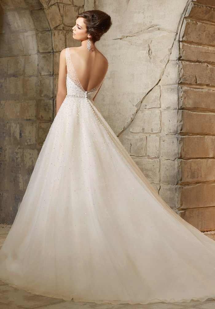 Vestidos De Noiva 2017 Bling Bridal Gowns Vintage Glitter Wedding Dresses Turkey Sexy Tulle Luxury China Wedding Dresses 2017