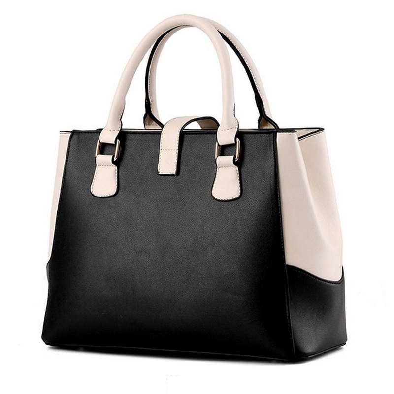 Women Bag Pu Leather Lady Shoulder Bag Designer Handbags High Quality  Fashion 2017 Brand Ladies hand bag Big Women's Tote