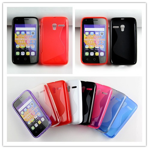 innovative design a6dc8 622af US $92.0 |For Alcatel One Touch Pixi 3 3.5 OT 4009X 4009 4009D 4009E Case  Cover S Line TPU Free Ship on Aliexpress.com | Alibaba Group