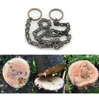 Outdoor Camping Hiking Manual Hand Steel Rope Chain Saw Portable Practical Emergency Survival Gear Steel Wire