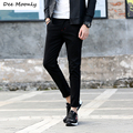 DEE MOONLY 2017 New Top Quality Man's Ankle-length Ninth Pants Casual Fashional Men Pants Comfortable Trousers For Spring